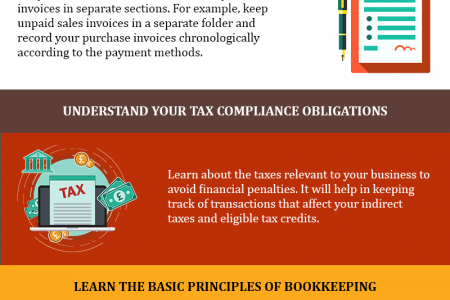 5 Steps for Effortless Bookkeeping - Bookkeeping Services Infographic