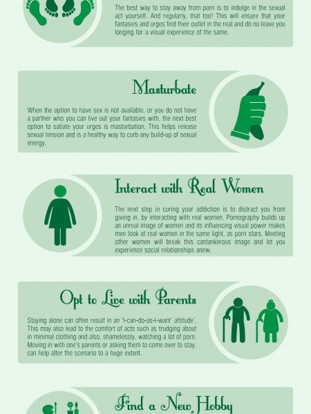 5 Steps to Overcome a Pornography Addiction  Infographic
