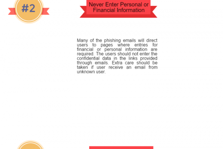 5 Steps You Can Take To Prevent Phishing Attack Infographic