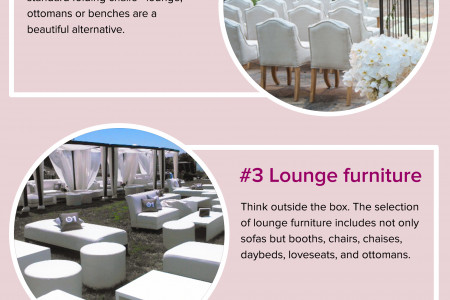 5 Things You Need to Know about Wedding Furniture Rentals Infographic