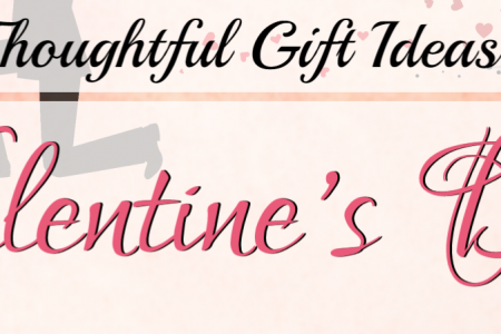 5 Thoughtful Gift Ideas For Valentine's Day Infographic