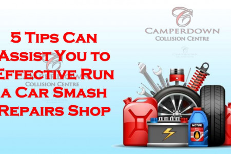 5 Tips Can Assist You to Effective Run a Car Smash Repairs Shop Infographic