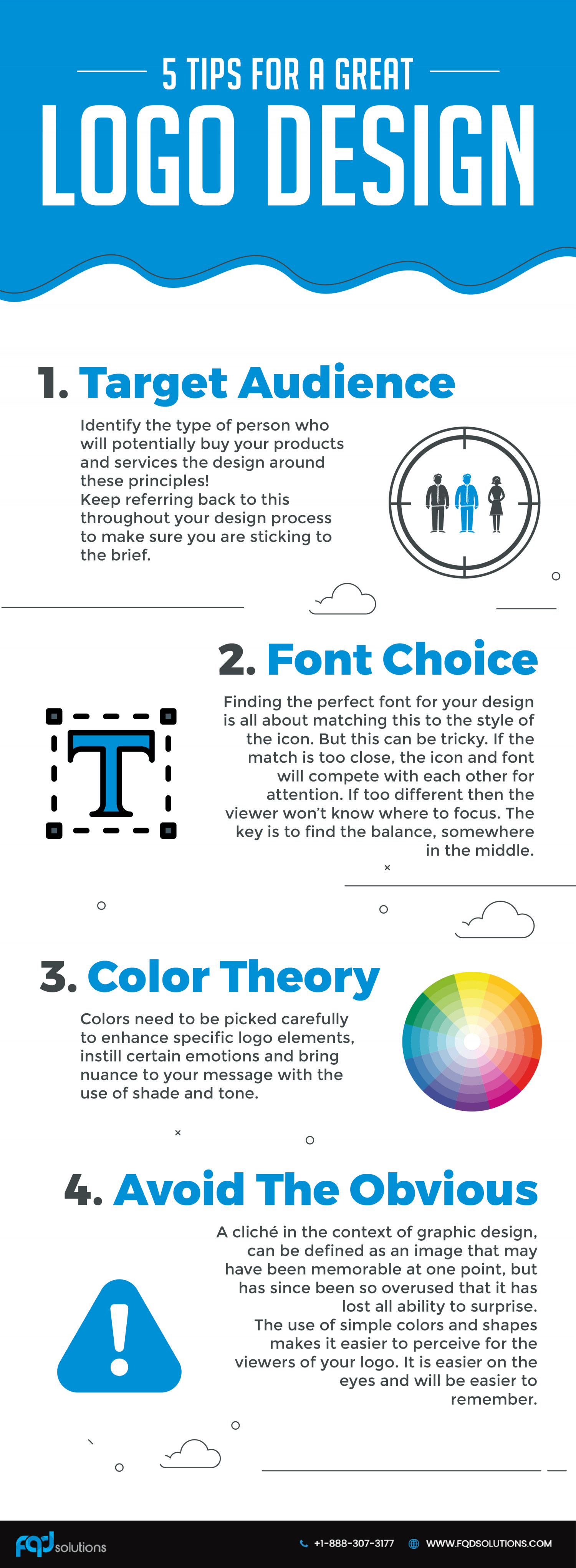 5 Tips For A Great Logo Design Infographic