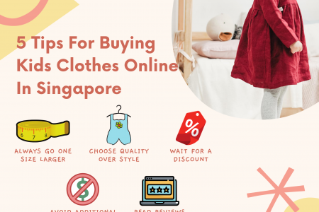 5 Tips For Buying Kids Clothes Online In Singapore Infographic