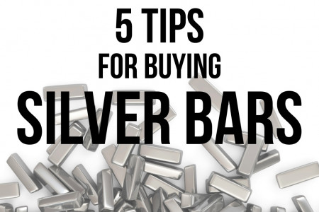 5 Tips for Buying Silver Bars Infographic
