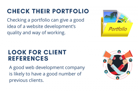 5 Tips for choosing Right Web Development Company Infographic
