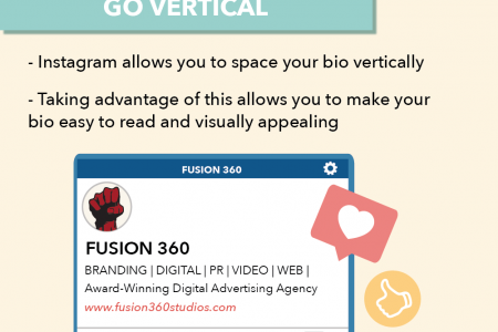 5 Tips for Creating an Instagram Bio That Will Increase Followers Infographic