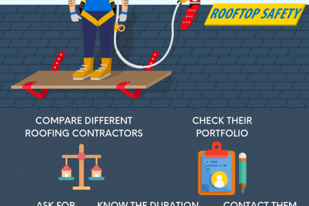 5 Tips For Hiring Roofing Contractors In Singapore Infographic