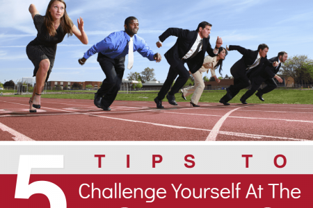 5 Tips to Challenge Yourself at the Workplace Infographic