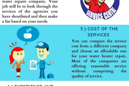 5 Tips to Choose the Best Hot Water Repairs Provider Infographic