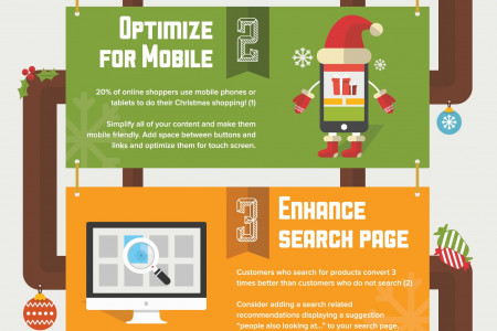 5 Tips to Increase Your E-Commerce Storesales During Holiday Season Infographic