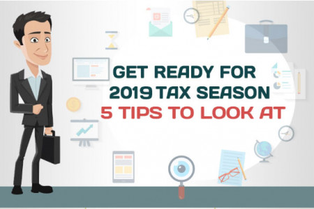 5 Tips to Prepare Yourself for Tax Season Infographic