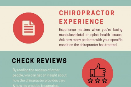 5 Top Tips To Find A Best Chiropractor Infographic