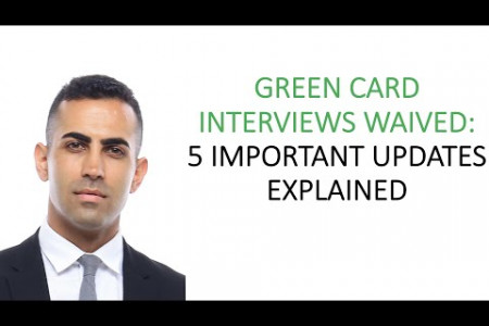 5 Updates for Green Card Interview Waiver Infographic