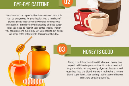 5 WAY OUT TO CONTROL LOW BLOOD SUGAR LEVELS AT HOME Infographic