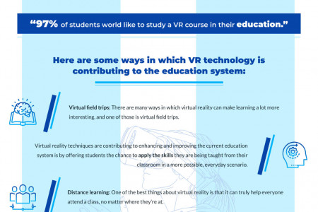 5 Ways that Virtual Reality is Improving Education Infographic