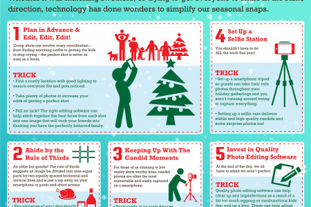 5 Ways to Avoid Holiday Photo Fails Infographic