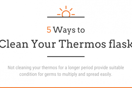 5 Ways to Clean Your Thermos flask Infographic