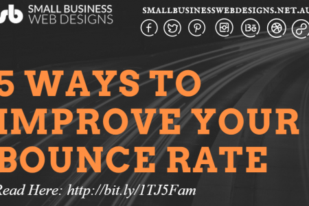 5 Ways To Improve Your Bounce Rate Infographic