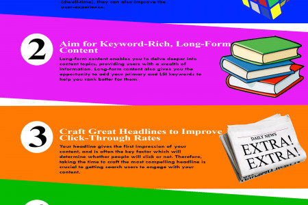 5 Ways to improve your SEO Strategy [Infographic] Infographic