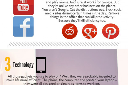 5 ways to make your office more efficient Infographic