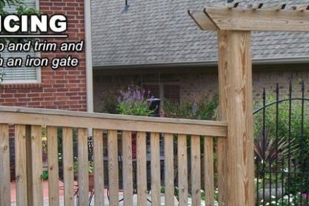 5 Ways You Can Adorn Your Yard With Wooden Fence Infographic