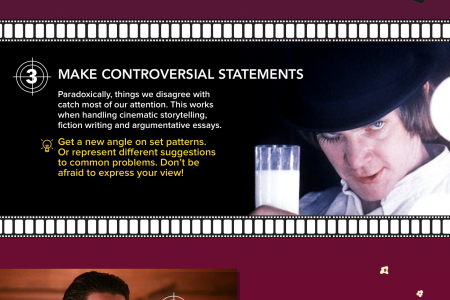 5 Writing Lessons from Cinematic Arts Infographic