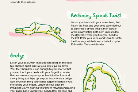 5 Yoga Poses for Better Digestion Infographic