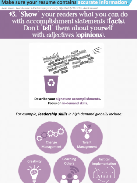 5 Smart Ways to Make Recruiters Like You and Your Resume Infographic
