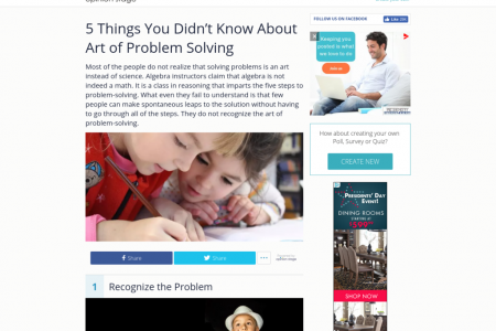 5 Things You Didn't Know About Art of Problem Solving Infographic