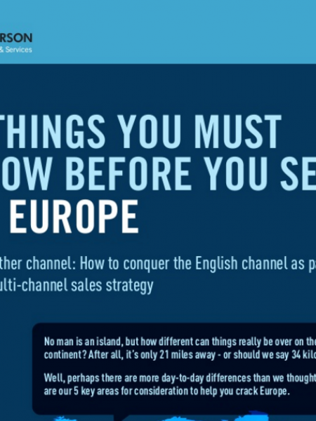 5 Things You Must Know Before You Sell to Europe Infographic