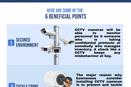 6 Beneficial Points for Considering the CCTV Installation Infographic