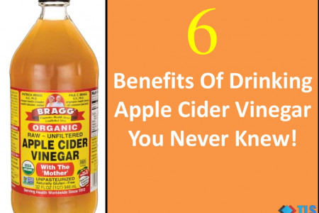 6 Benefits Of Drinking Apple Cider Vinegar You Never Knew! Infographic