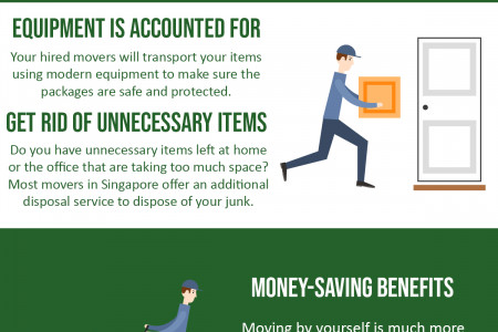 6 benefits of hiring movers in Singapore Infographic