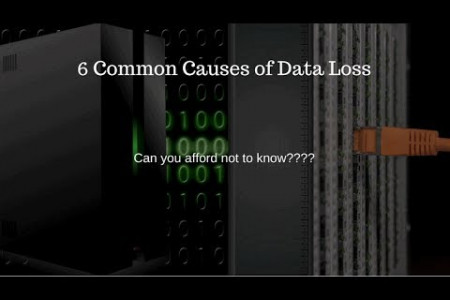 6 Common Causes of Data Loss Infographic