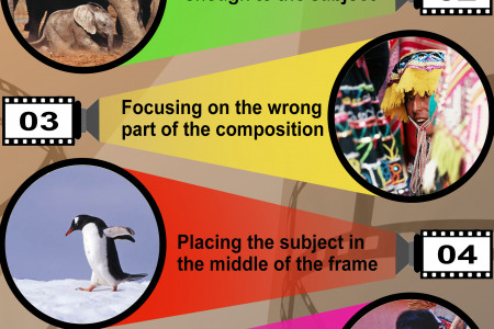 6 Common Photography Mistakes Infographic