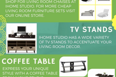 6 Contemporary Living Room Furniture Sets You'll Love Infographic
