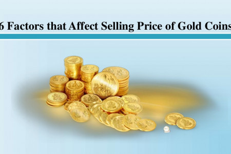 6 Factors that Affect Selling Price of Gold Coins Infographic