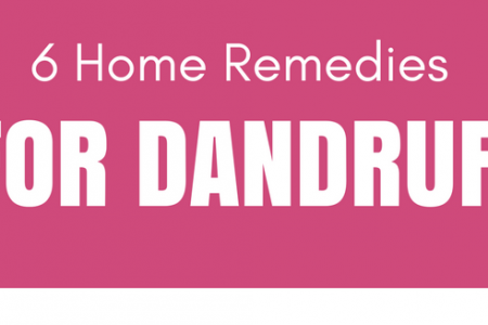 6 home remedies for dandruff Infographic