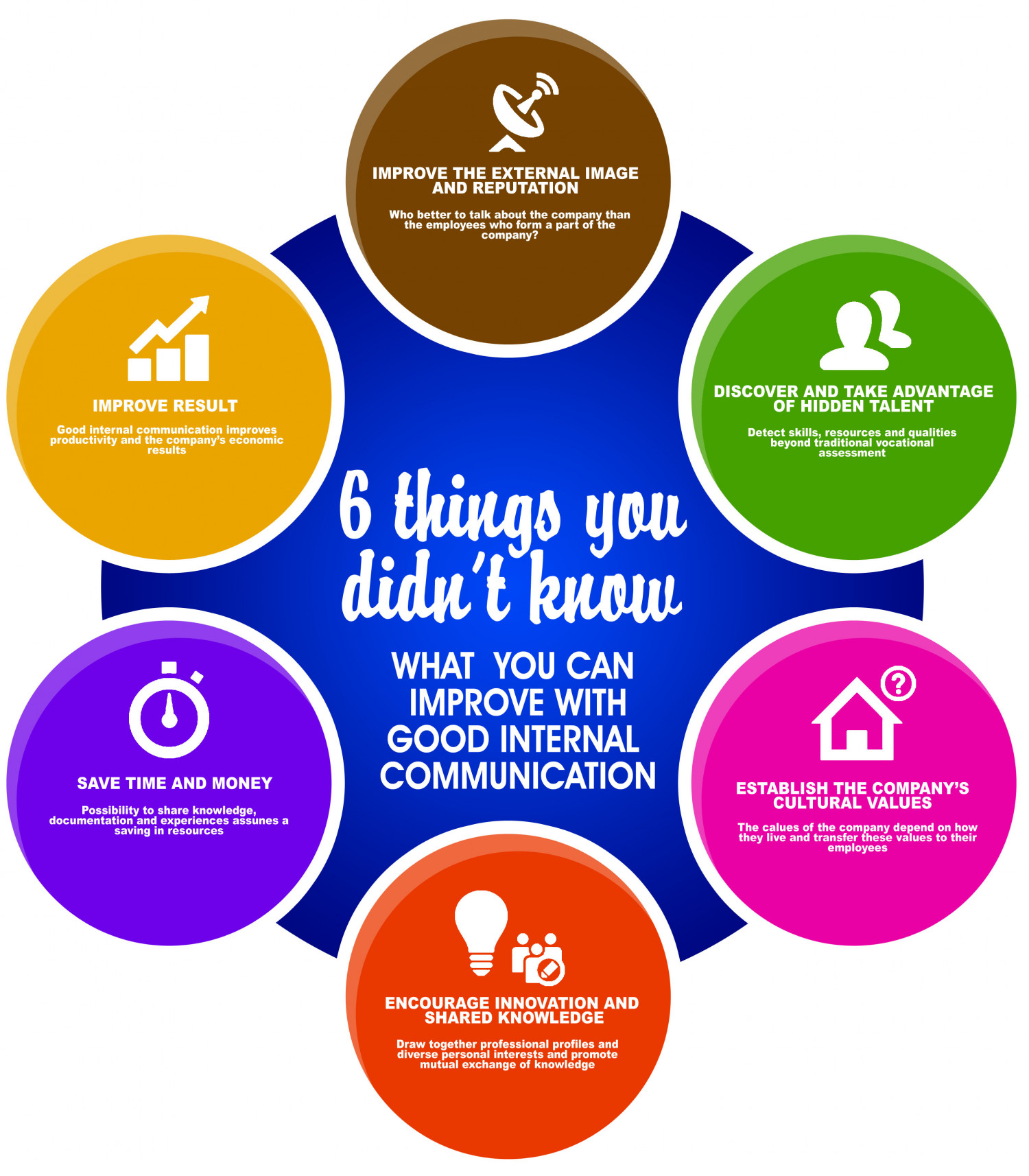 6 Things You Didn't Know Infographic