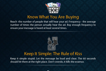 6 Keys to Creating Great Radio Advertising Infographic