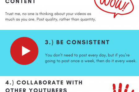 6 Outstanding Ways to Get More Subscribers On YouTube! Infographic