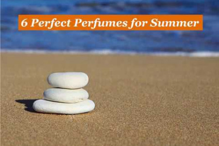 6 Perfect Perfumes for Summer Infographic