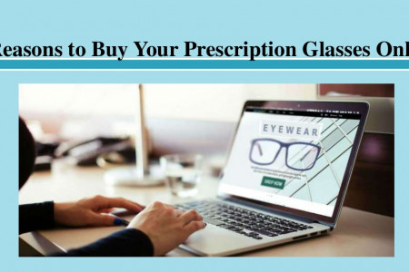 6 Reasons to Buy Your Prescription Glasses Online Infographic