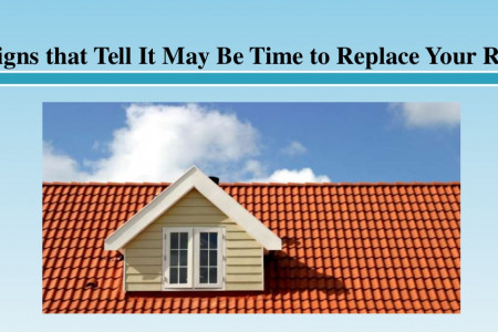 6 Signs that Tell It May Be Time to Replace Your Roof Infographic