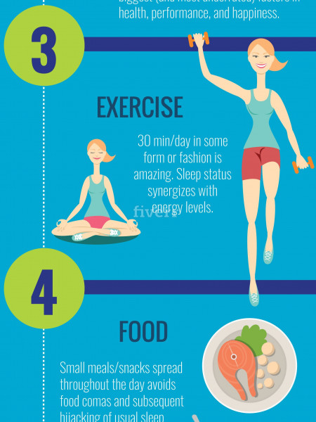6 Simple Tips to Improve Your Quality of Sleep Infographic