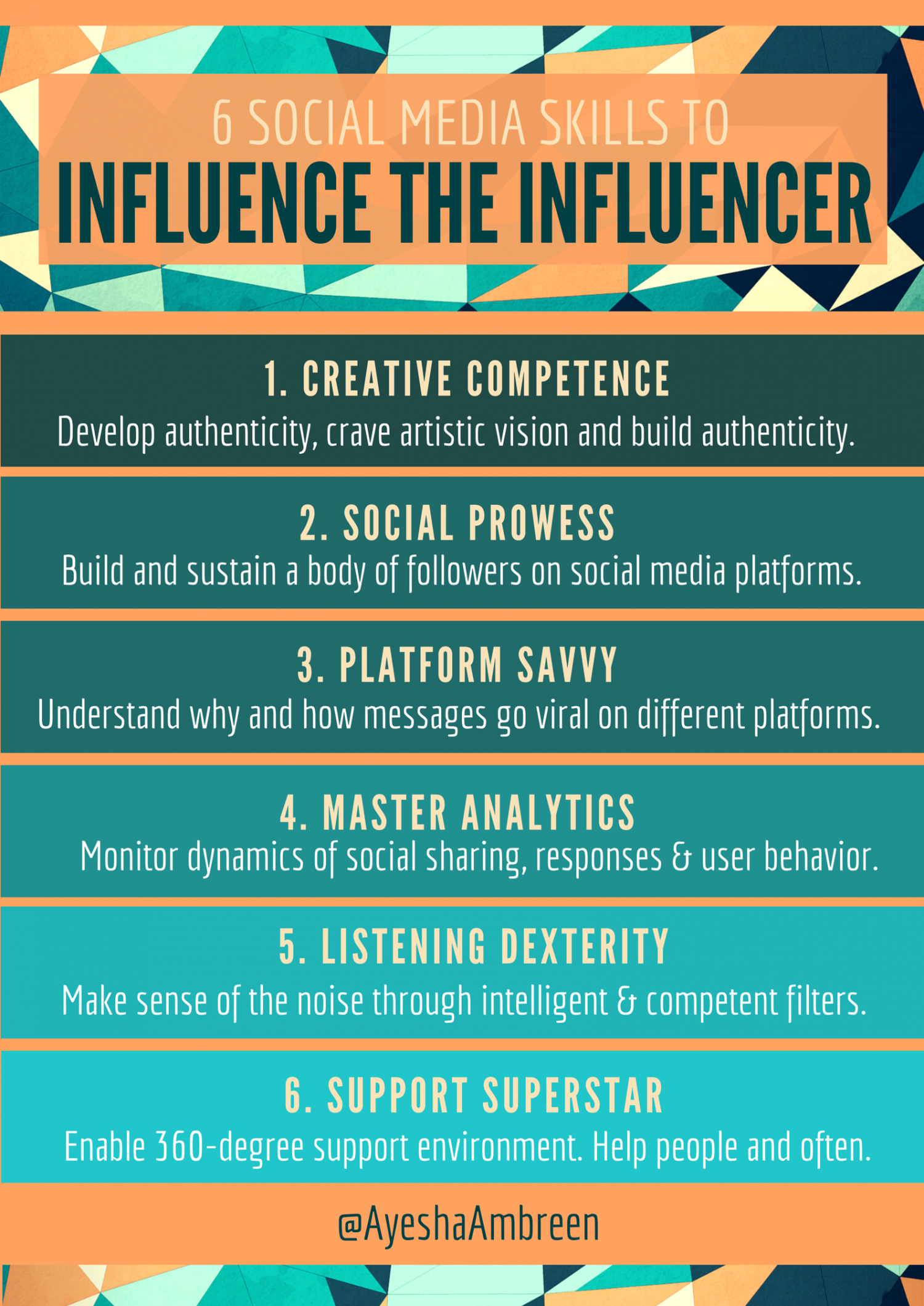 are the social influences of visual