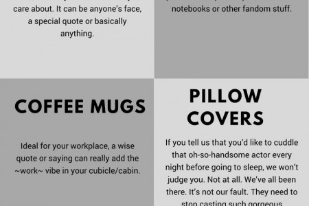 6 Things Every Fan-girl Should Own Infographic