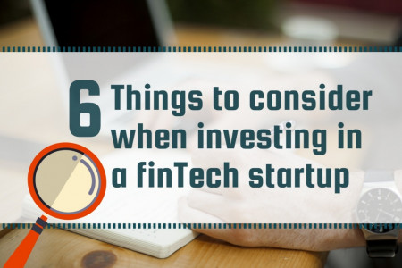 6 things to consider before investing in fintech startup Infographic