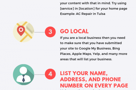 6 Tips for Local Businesses to Get More Traffic to their Website (SEO Infographic) Infographic